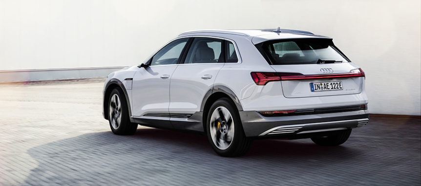 Audi e tron 50 test